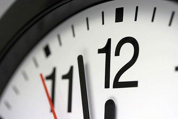 ساعت رسمی کشور فرداشب یک ساعت به عقب کشیده میشود